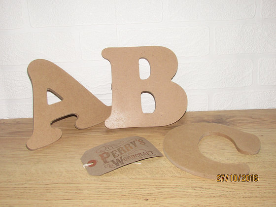 Cooper Font Wall Letters
