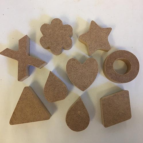 Packs of Mini Mandala Shapes