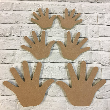 Hands (Sold in pairs or singly)