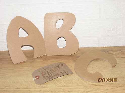 Hobo Font Wall Letters
