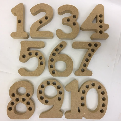 Set of Freestanding Numbers with or without holes