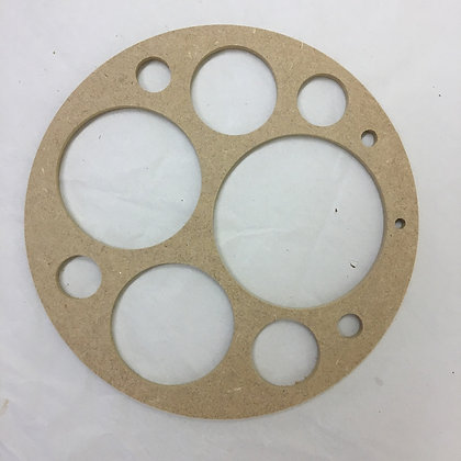 6mm Circle Drawing Stencil Guide