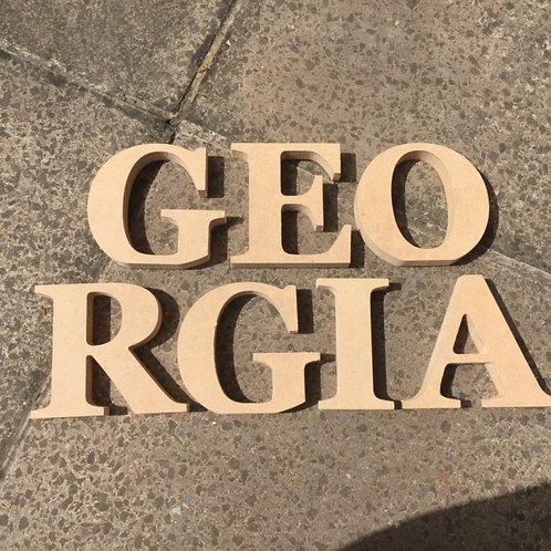Georgia Bold font