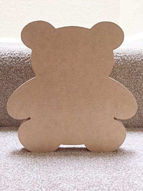 Large Teddy Shape (23cm tall)
