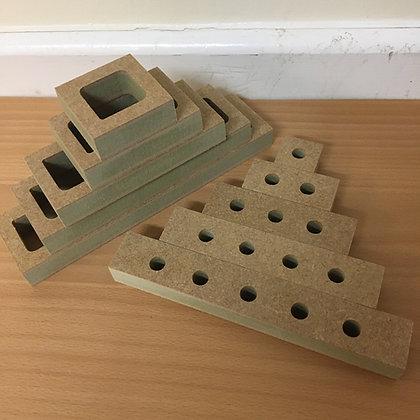 Counting Hollow Pyramid
