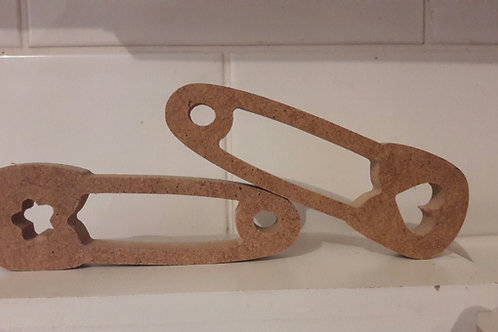 Pair of Safety Pins