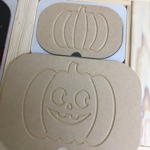 Halloween Engraved Tracing Ikea Activity Lids