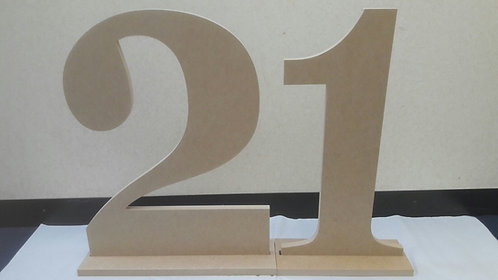 Large and Giant 12mm and 18mm Letters & Numbers
