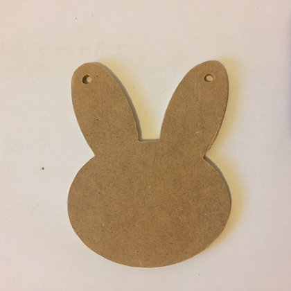 Easter Bunny Bunting 4mm (10cm)