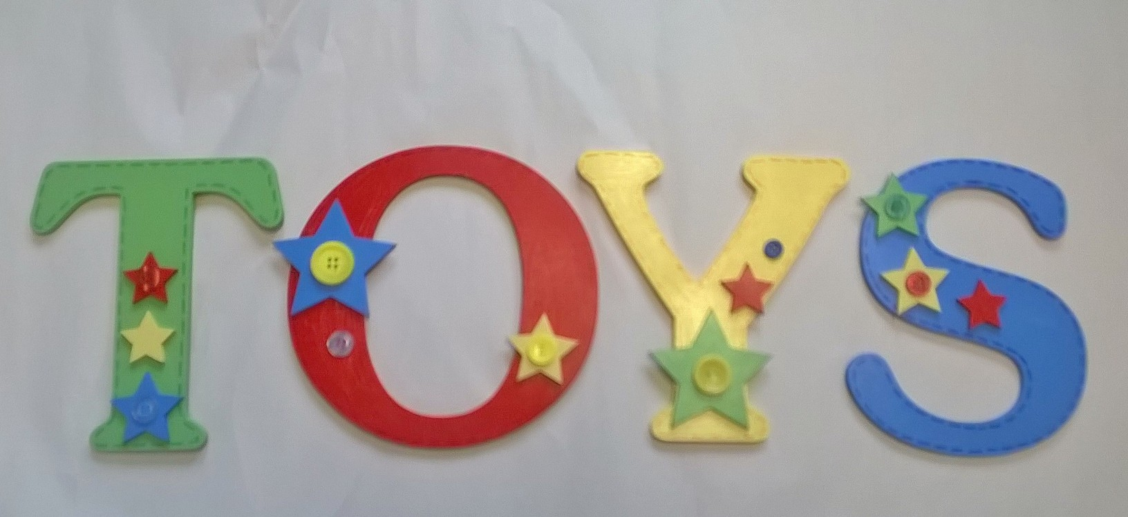 Toy Box letters
