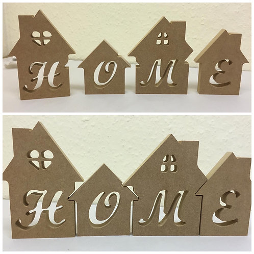Houses with Home wording
