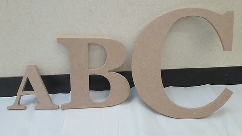 Large and Giant 6mm Letters & Numbers