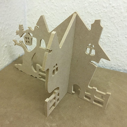 3D Haunted House 6mm
