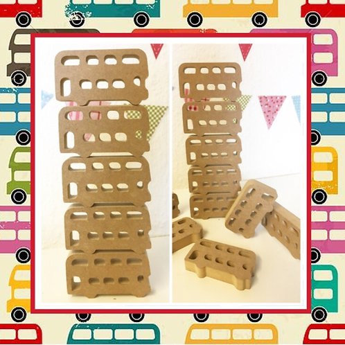 Stacking Buses (Packs of 5 or 10)