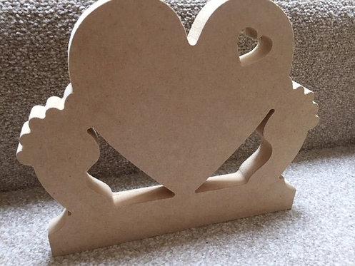 Large Heart / Feet Shape (23cm)
