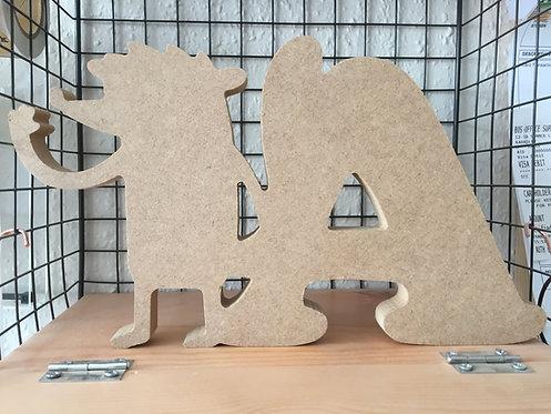 Custom character letters