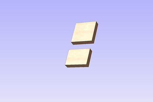 Chunky Plain Blocks