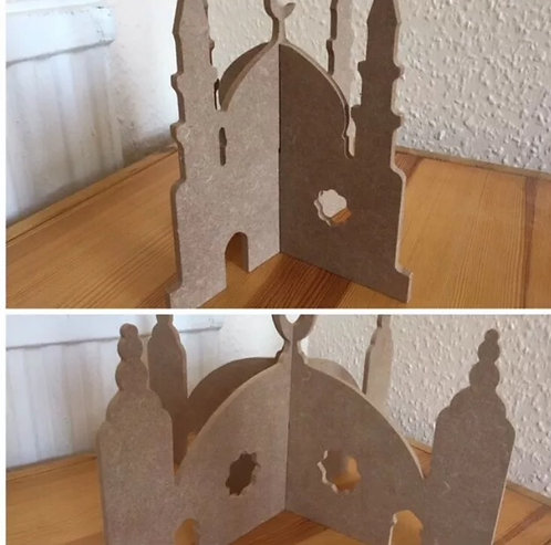6mm 3D Standing Mosques