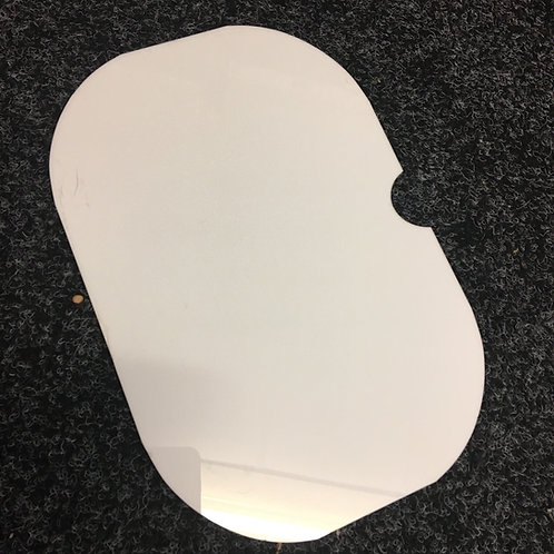 WHITE Acrylic Solid Activity Lids