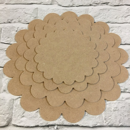 Scalloped Playboards / Plaques