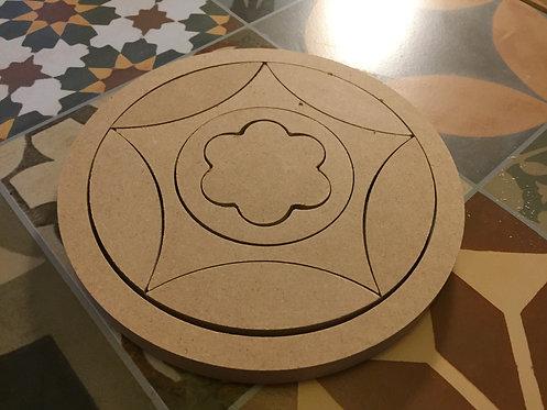 Nesting 20cm Mandala Puzzle