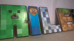 Paper covered Minecraft