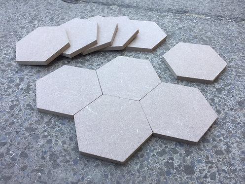 Hexagon Tiles (6mm flat) 8cm