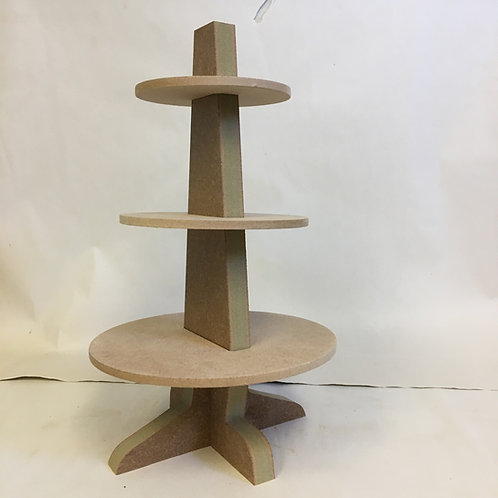 3 Tier Stacking Tree Table