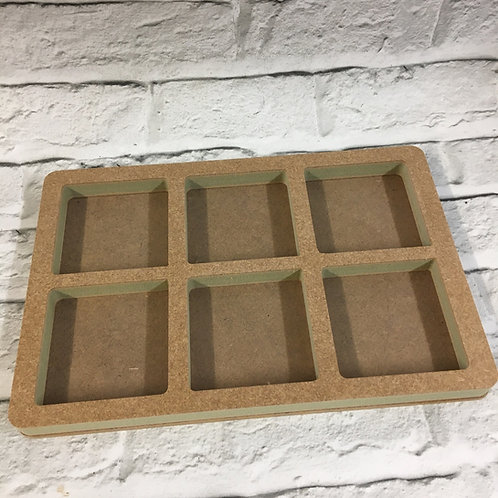 Hollow A4 Sorting Tray (Separate Base)
