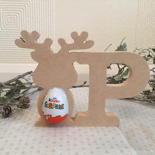 Reindeer Kinder Letters