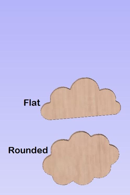 6mm Cloud Shape