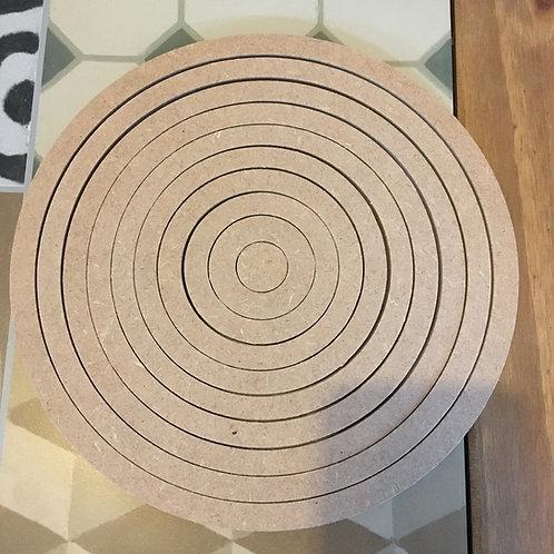 Set of 10 x 6mm Rings