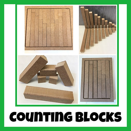 Counting Blocks in Trays