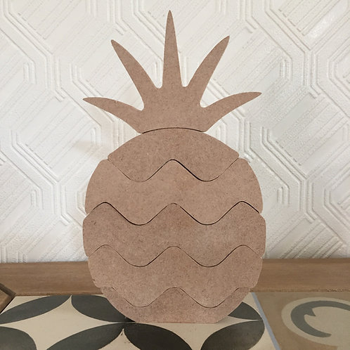 Stacking Pineapple 21cm tall