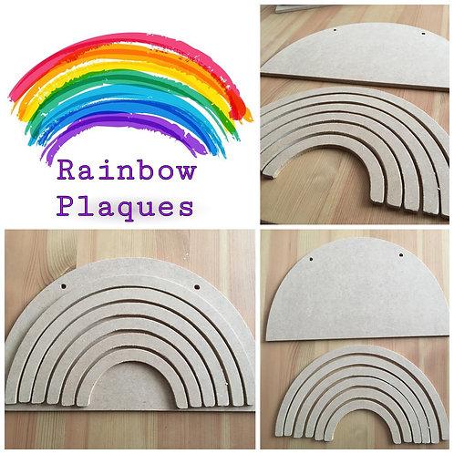Large Rainbow Plaque