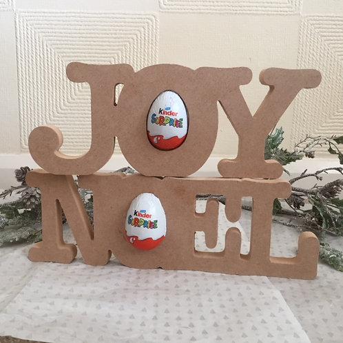 NOEL - JOY Kinder Joined Words