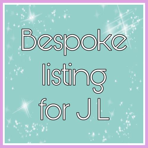 JL - Customer Bespoke Listing
