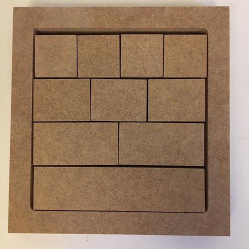 Fraction Strips/Blocks in Tray