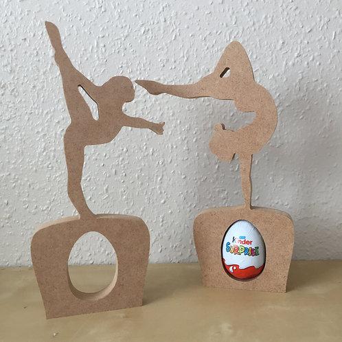Gymnast Egg Holders