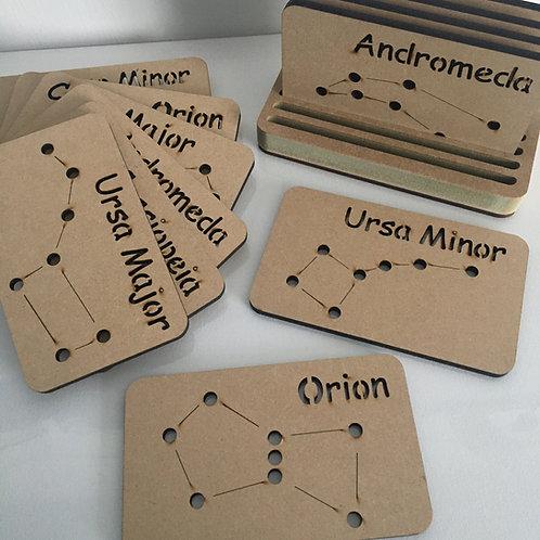 Constellation Threading Flash cards