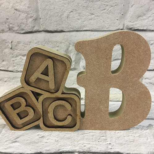 Baby Themed Letters