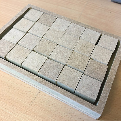 """6 x 4 Board with 1"""" Squares"""