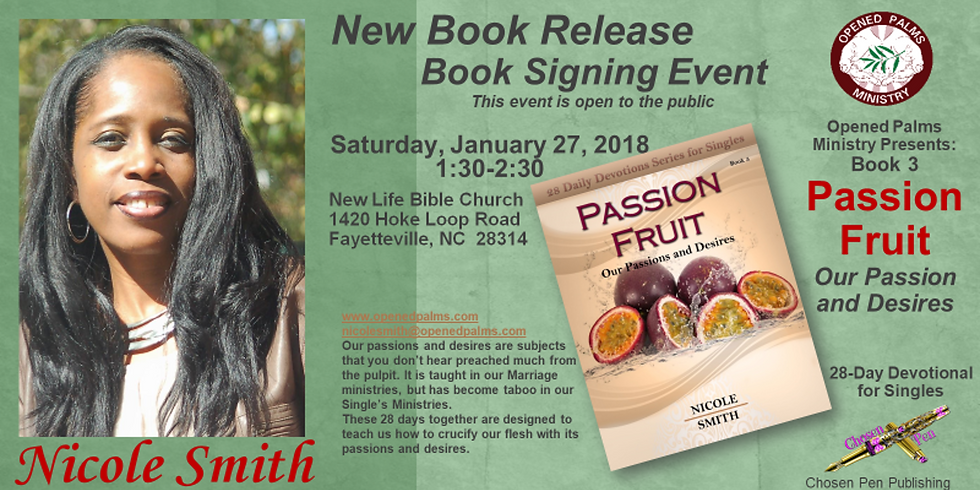 Passion Fruit Book Signing