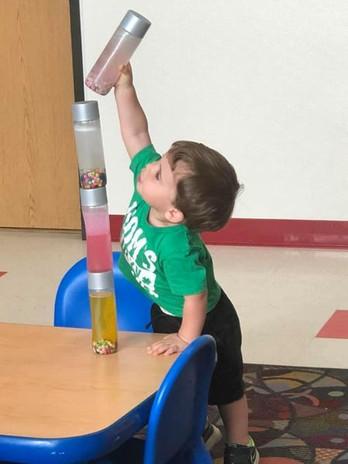 STEM in the Toddler room