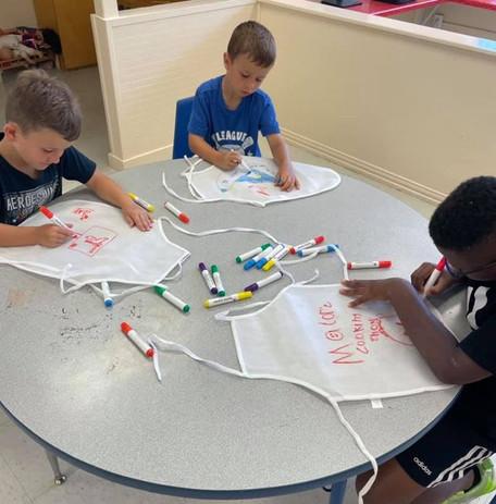 Designing Aprons