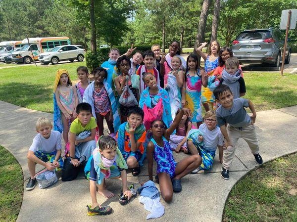 Splash Pad Field trip with Koti Kids