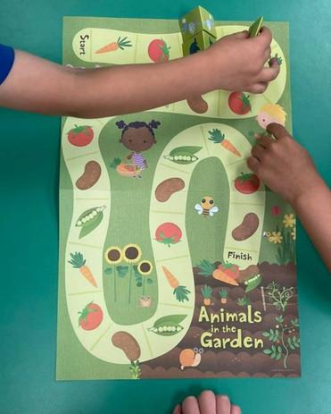 Math Garden Game