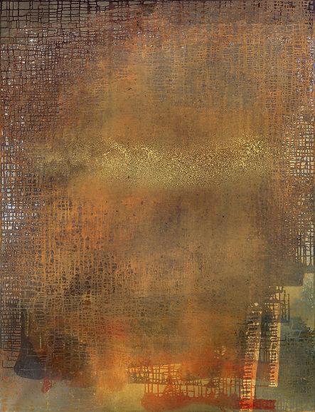 Chelleneshin 43, oil on canvas, 50 x 37.