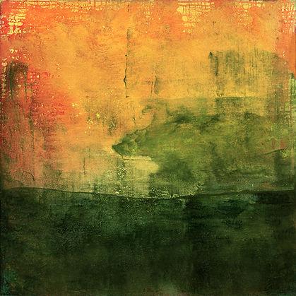 The Third Script 41, oil on canvas, 30 x
