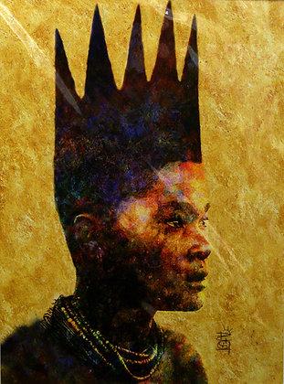 Young King - David Bruce Graves - Artist Print